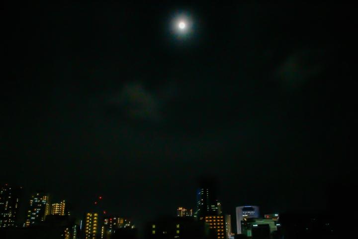 満月と、新しいコトと。